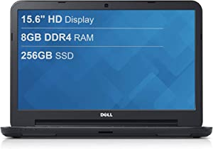 "Dell Inspiron 15 15.6"" HD Anti-Glare LED-Backlit Laptop, Intel Pentium Gold 5405U, 8GB DDR4, 256GB PCIe SSD, HDMI, 802.11ac, Bluetooth, Webcam, Windows 10 in S Mode, TWE Accessory"