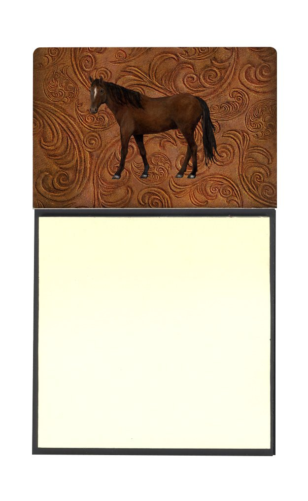 Caroline's Treasures SB3066SN Horse Refillable Sticky Note Holder or Postit Note Dispenser, 3.25 by 5.5'', Multicolor by Caroline's Treasures