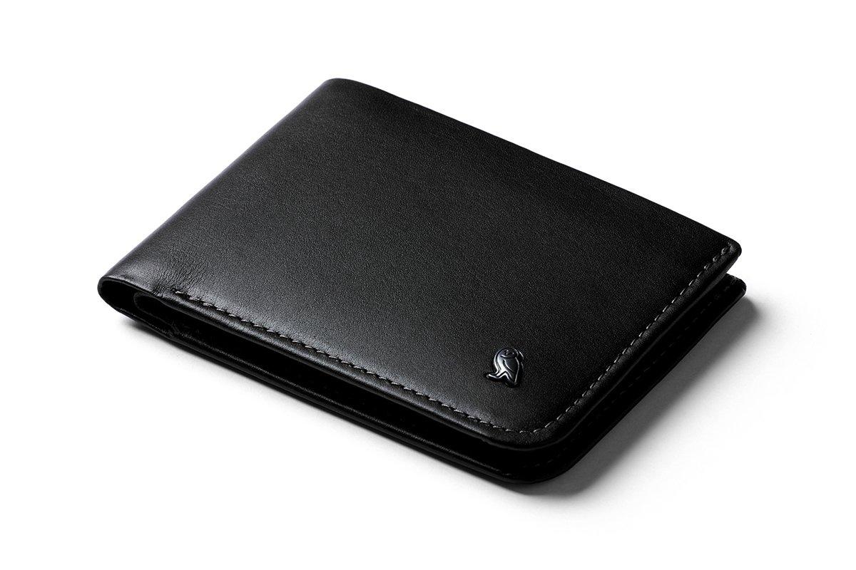 Bellroy Leather Hide & Seek Wallet Black - RFID by Bellroy