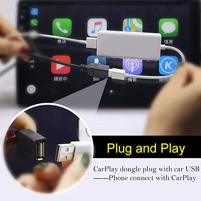 USB Dongle for Android Auto or Carplay Support Android system Car Navigation Player Mini USB Wireless Display: Amazon.es: Electrónica