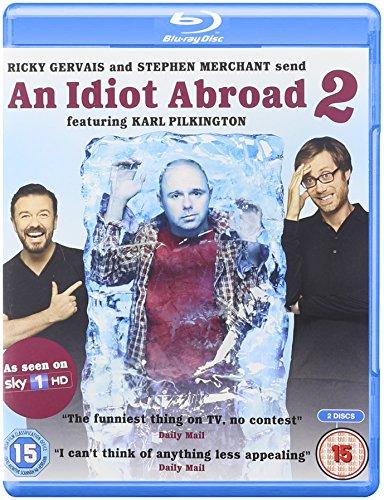 An Idiot Abroad 2: The Bucket List (Region B Blu-Ray)