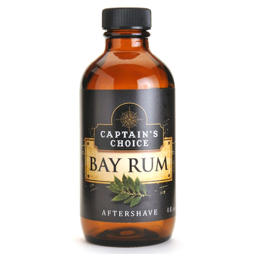Captain's Choice Original Bay Rum 4.0 oz After Shave Pour Captain' s Choice