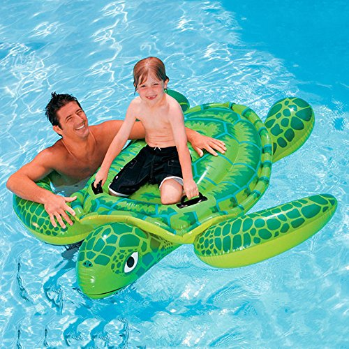 YOUDirect(TM) 191*170CM Sea Turtle Ride Swimming Pool Inflatable Giant Turtle Float Toy Floating Bed Floating Mat for Kids Children Adult -
