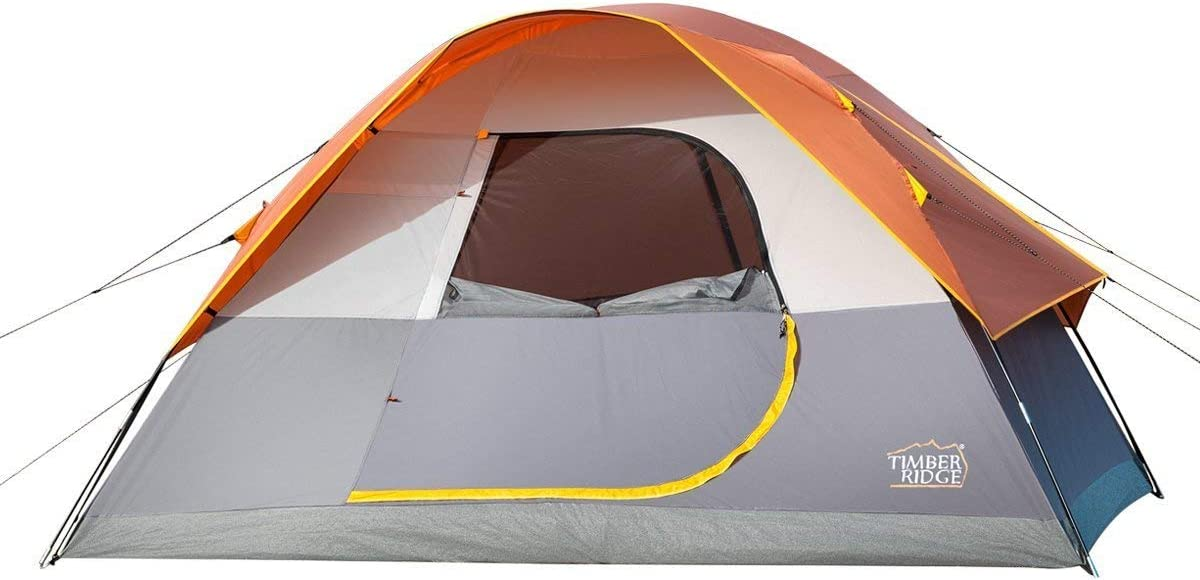 Timber Ridge Family-Tents timber ridge Family Camping Tent and rain Fly with Carry Bag