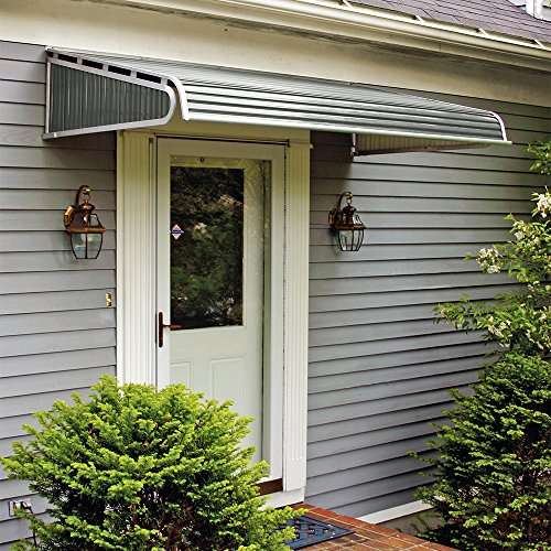 1500 Series Aluminum Door Canopy with Sidewings For Sale