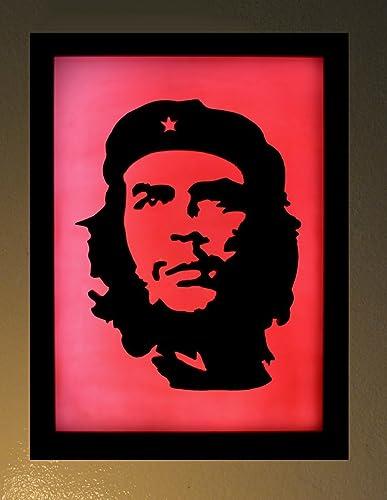 Amazon.com  Che Guevara 3D LED light box lamp limited edition wax ... 387a7877615e