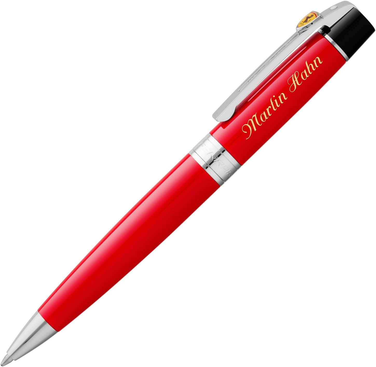 Sheaffer Ferrari 300 Ballpoint Pen With Personalised Laser Engraving Available Amazon De Bürobedarf Schreibwaren