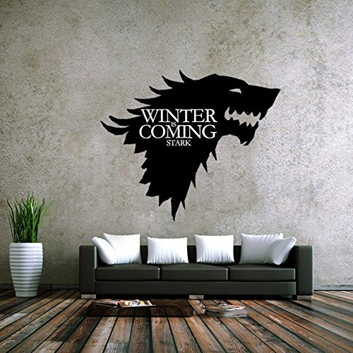 LPStar Removable Game of Thrones GOT Large Westeros Wall Decor Decals Murals Home Decoration Sticker 18x15 inch (18 x 15)