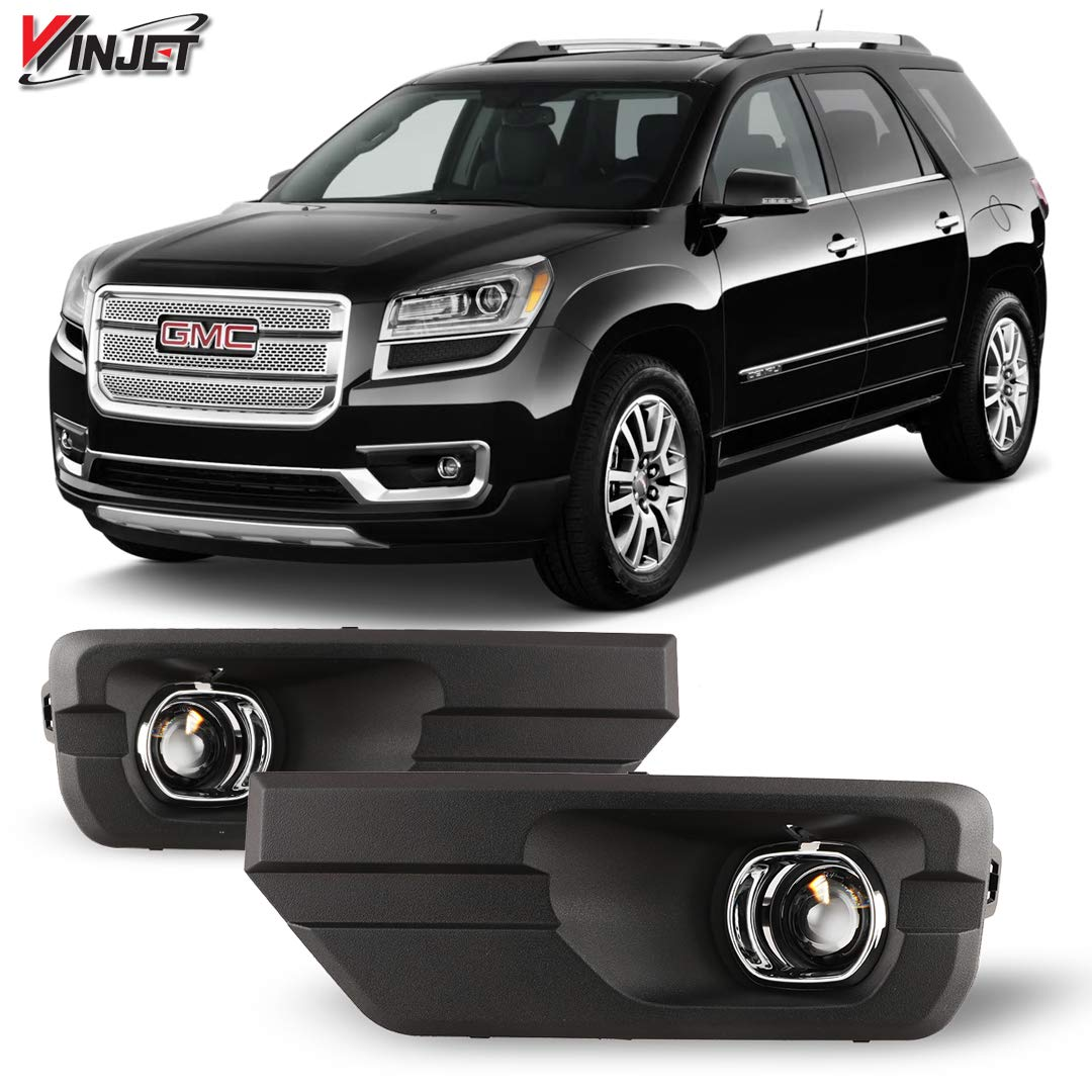 Winjet WJ30-0499-09 OEM Series for Driving Projector Fog Lights Switch 2013-2016 GMC Acadia Wiring Kit