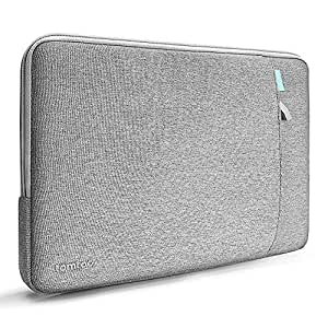tomtoc 360° Protective Laptop Sleeve for 13-inch New MacBook Air with Retina Display A1932, 13 Inch New MacBook Pro with USB-C A1989 A1706 A1708, Notebook Bag with Accessory Pocket