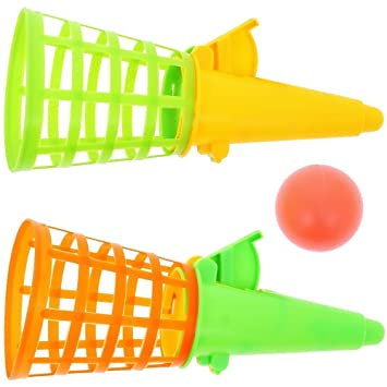 Promobo - Lot Juguete niños Dos Lanza Pelotas Set Plein Air ...