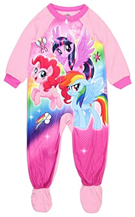 Amazon.com  My Little Pony The Movie Footed Pajamas Blanket Sleeper ... de59f6037
