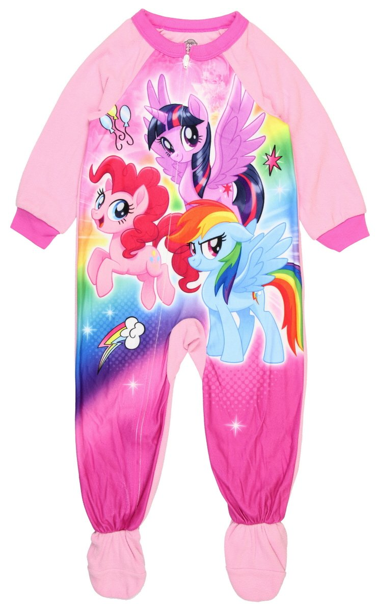 My Little Pony The Movie Footed Pajamas Blanket Sleeper (4t)