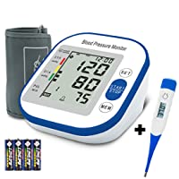 Digital Blood Pressure Monitor - Blood Pressure Monitor, Upper Arm Rechargeable...