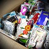 Wholesale Lot of 100 Bulk Cell Phone Cases & Screen Protectors - Various Types / Models