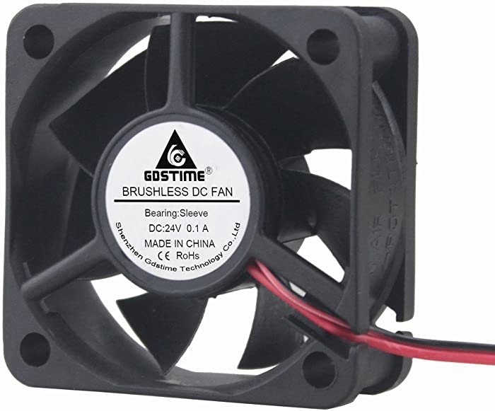 Gdstime 24V 50mm x 50mm x 20mm 2 inch 5020 Brushless Cooling Fan