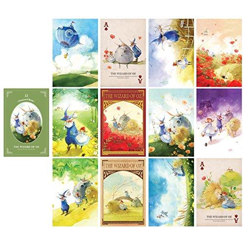 Fairy Tale Illustration Postcard Book 3.9