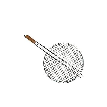 Cook & Grill 49140 - Parrilla para barbacoa redonda, mango ...