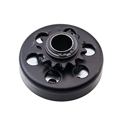 "SUNROADCentrifugal Engine Clutch 1"" Bore 14T for Go Kart Mini Bike Lawnmower Engine: Automotive"
