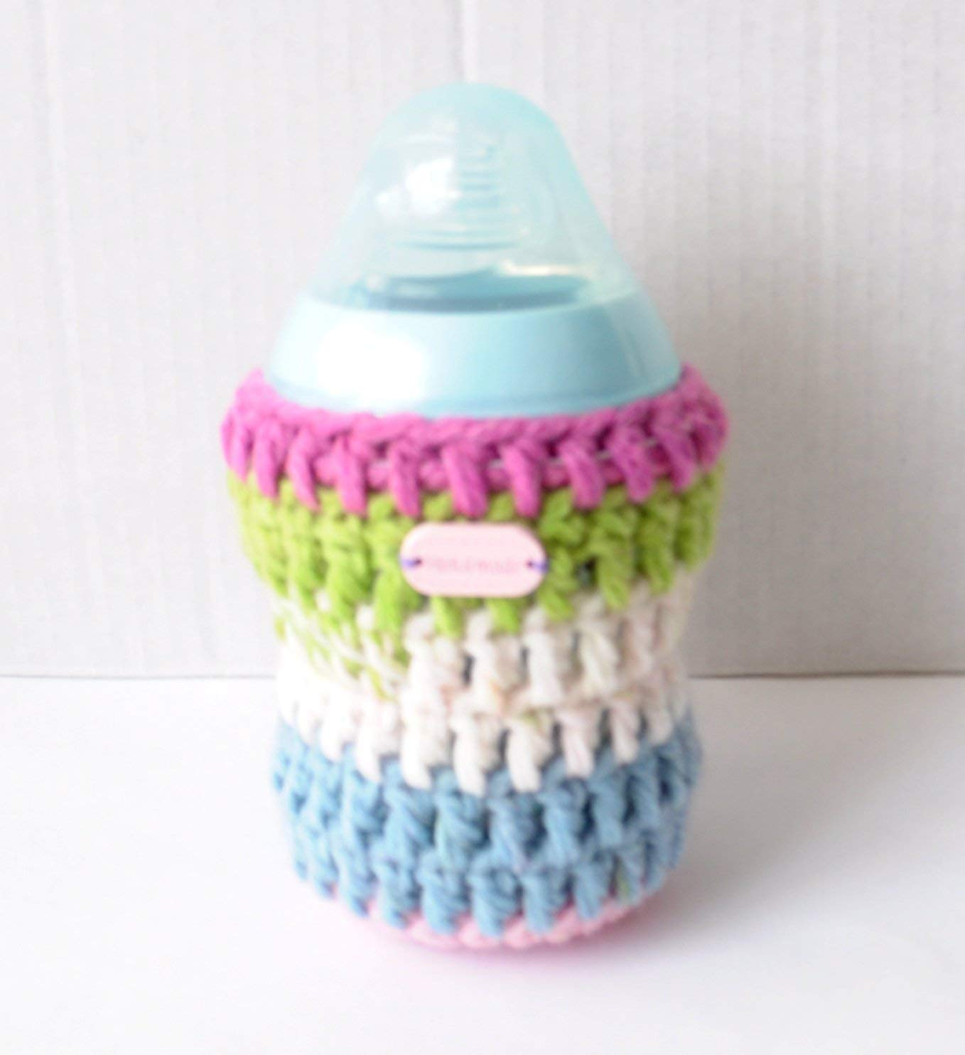 Unique Striped Multicolour Bottle Cover for 260ml