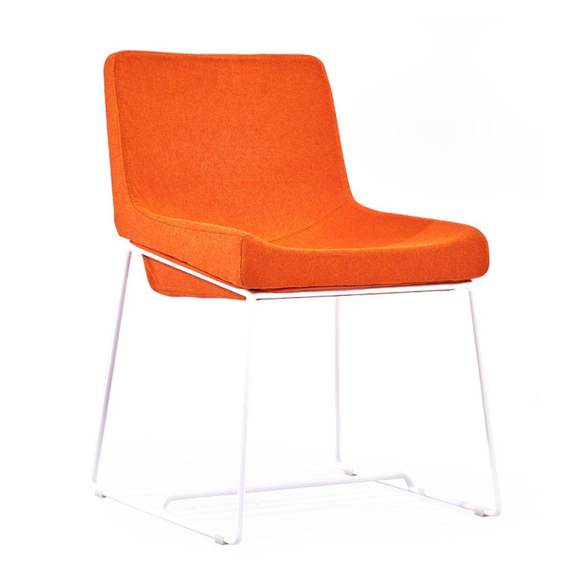 LRW Silla Europea Silla de Comedor de Arte Creativo de Moda de Hierro Moderna Silla de Comedor de Cafetería de Simple Café Moderno