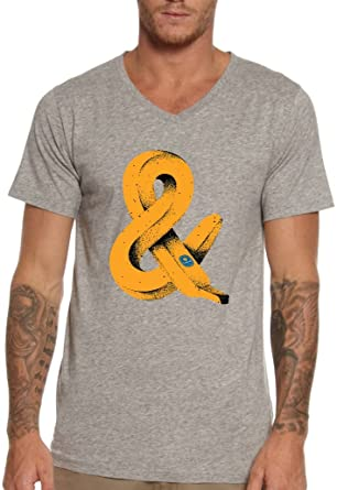 0385e2bb9ab And Endless Infinity Banana Fruit Funny Men s V-Neck T-shirt 100% Cotton