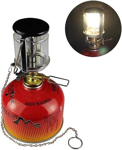 Peahop Linterna de Camping Luz de Gas Mini portátil ...
