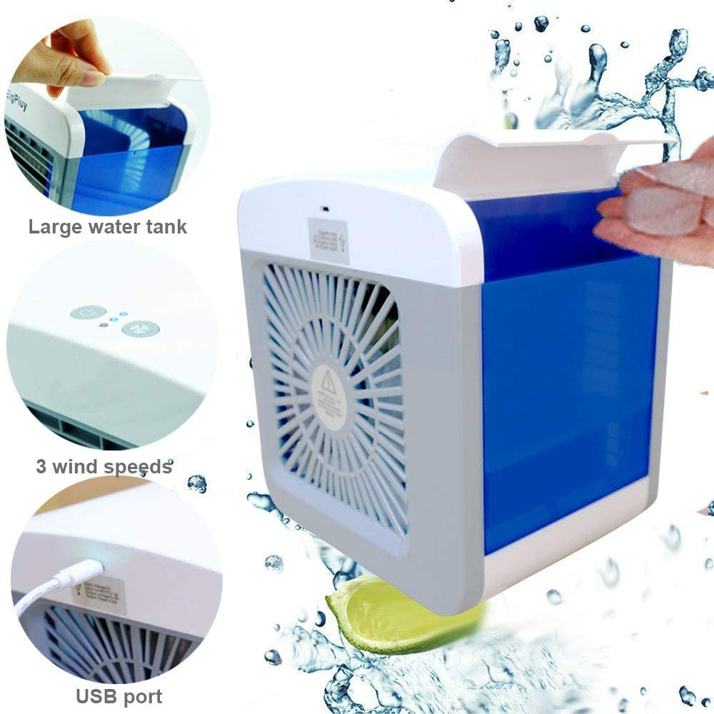 Yughb Aire acondicionado portátil Ventilador Enfriador de aire ...