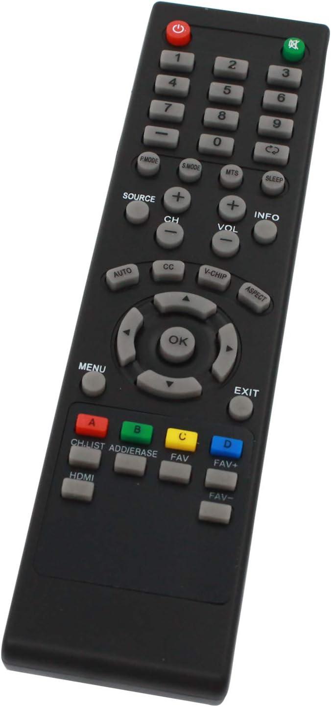 Mando a Distancia de Repuesto para Seiki 84504503B01 TV Funciona con Seiki SE19HY10 Television: Amazon.es: Electrónica