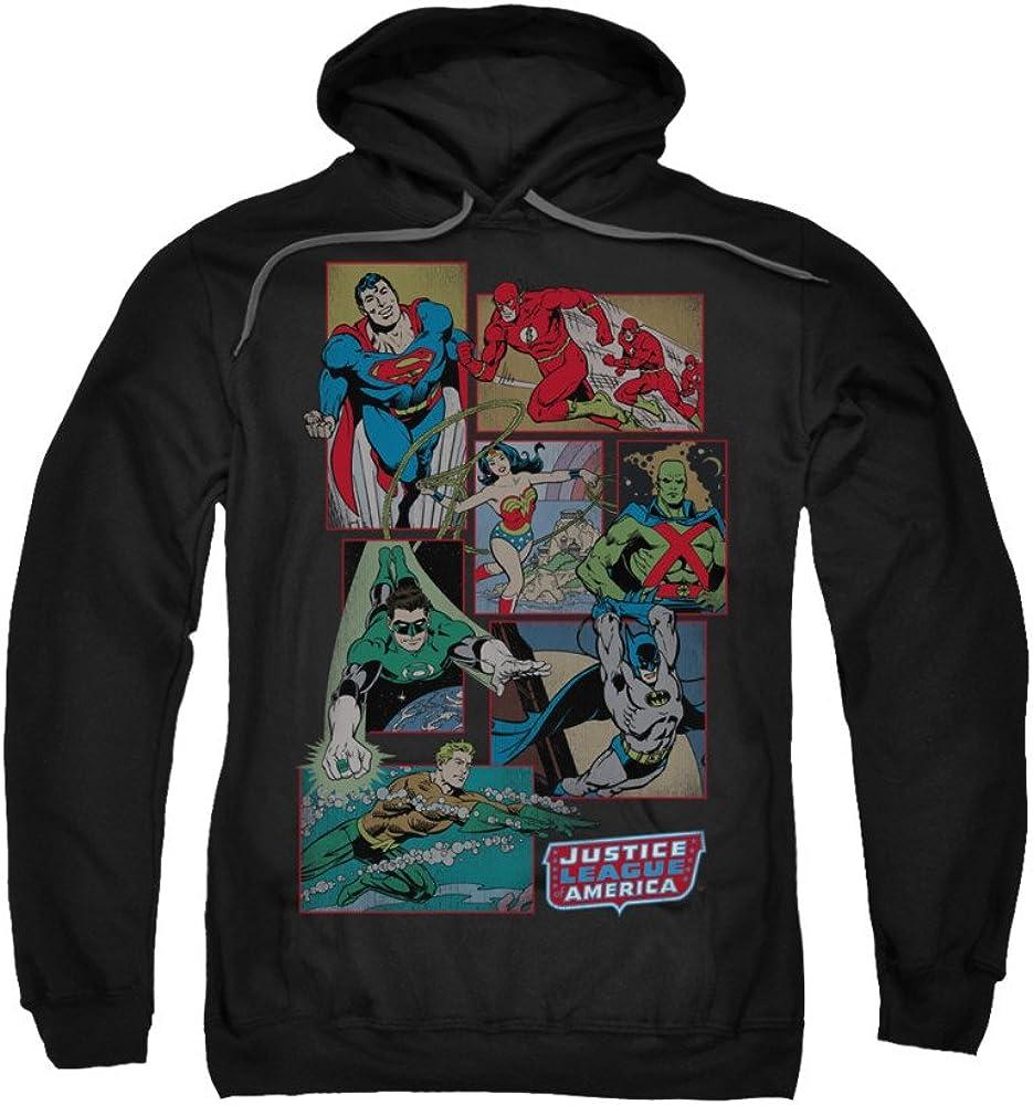 Justice Is Served Adult Crewneck Sweatshirt Justice League of America