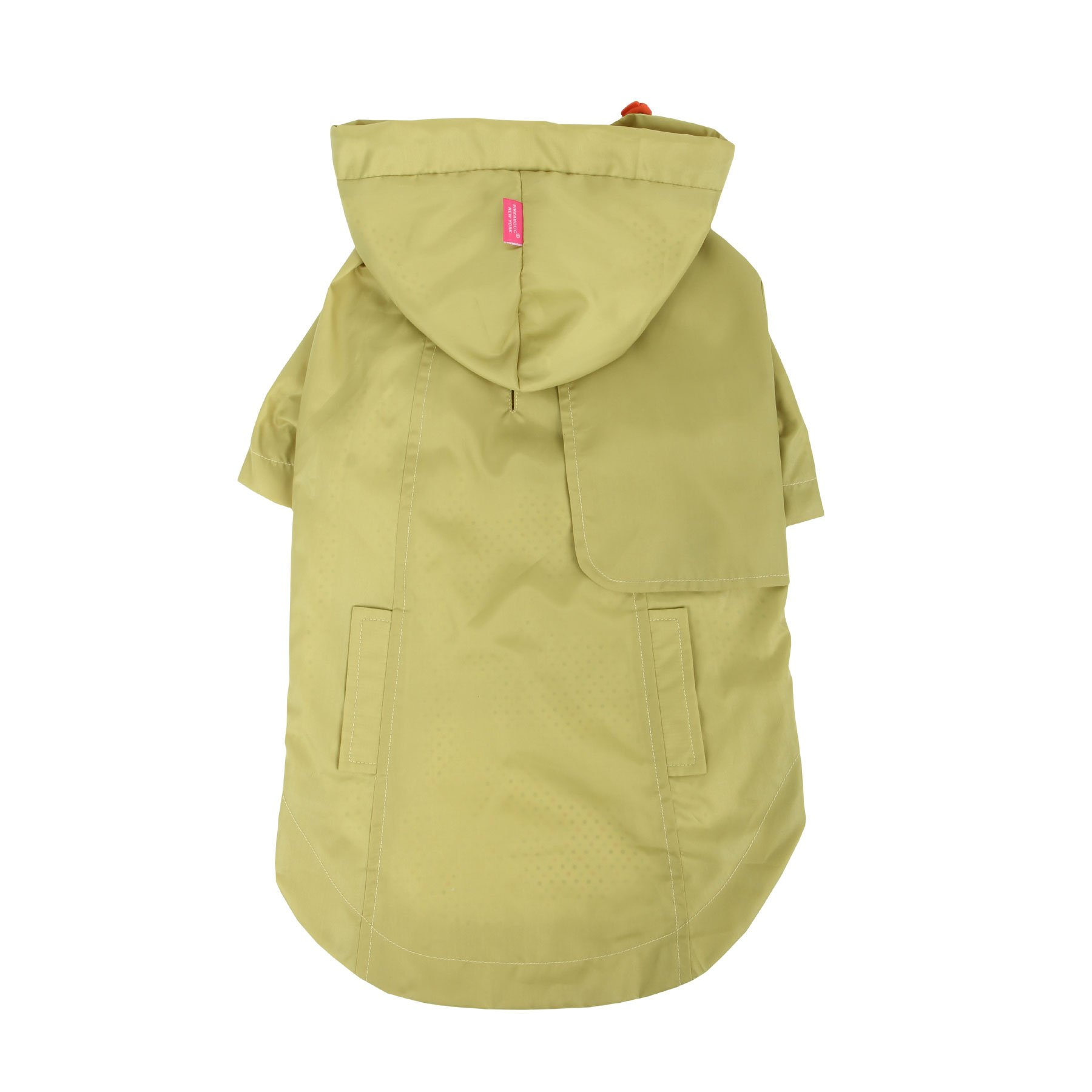 Pinkaholic New York Slicker Raincoat for Dogs, Medium, Lime by Pinkaholic New York