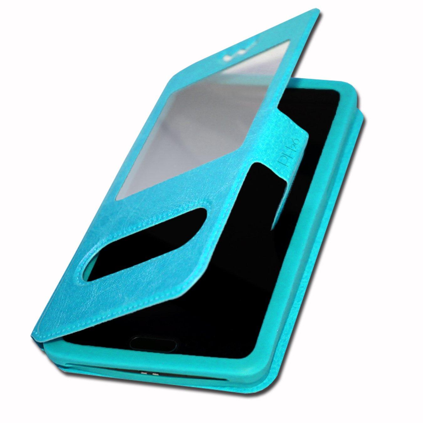 Ph26/® THL Knight 2 Etui Housse Coque Folio bleu de qualit/é