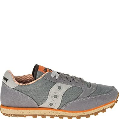 Saucony Originals De las mujeres Jazz Low Pro Sneaker,BlackGray