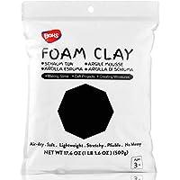 BOHS Super Light Clay, Air Dry, for Preschool Arts & Crafts,1.1 Pound (Black)...