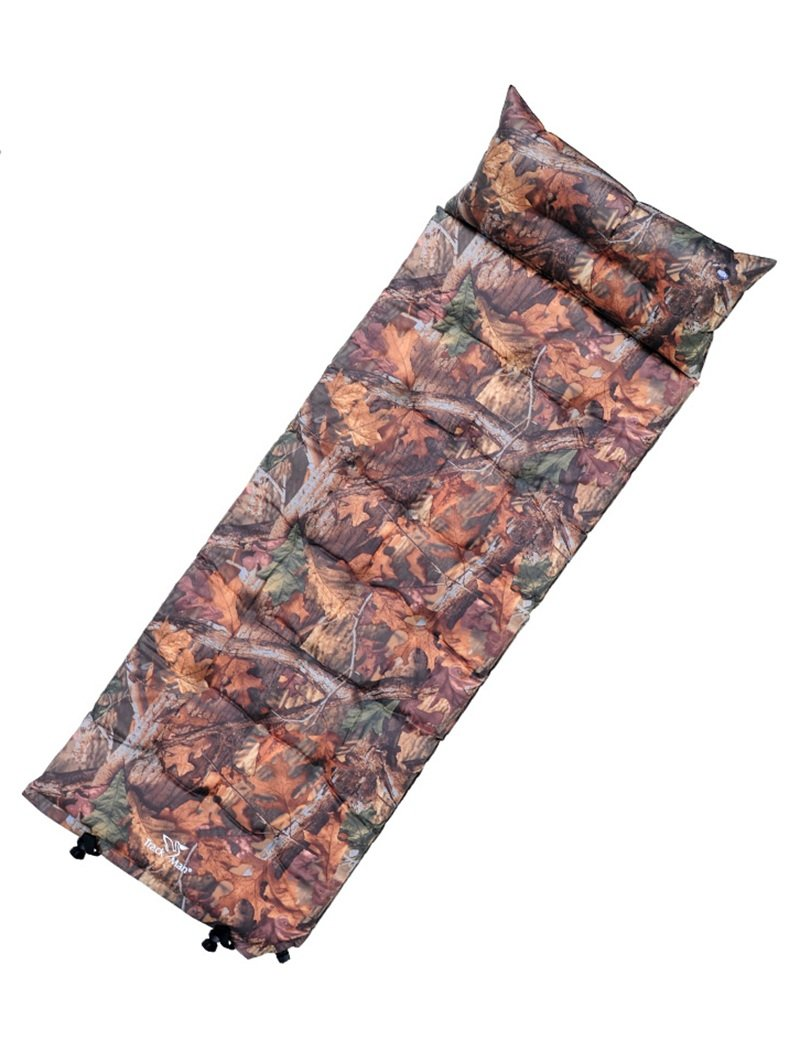 Draussen Zelt Aufblasbares Bett Automatisches aufblasbares Pad Person FeuchtigkeitsBesteändiges Pad Schlafkissen 195  69  3,8 cm