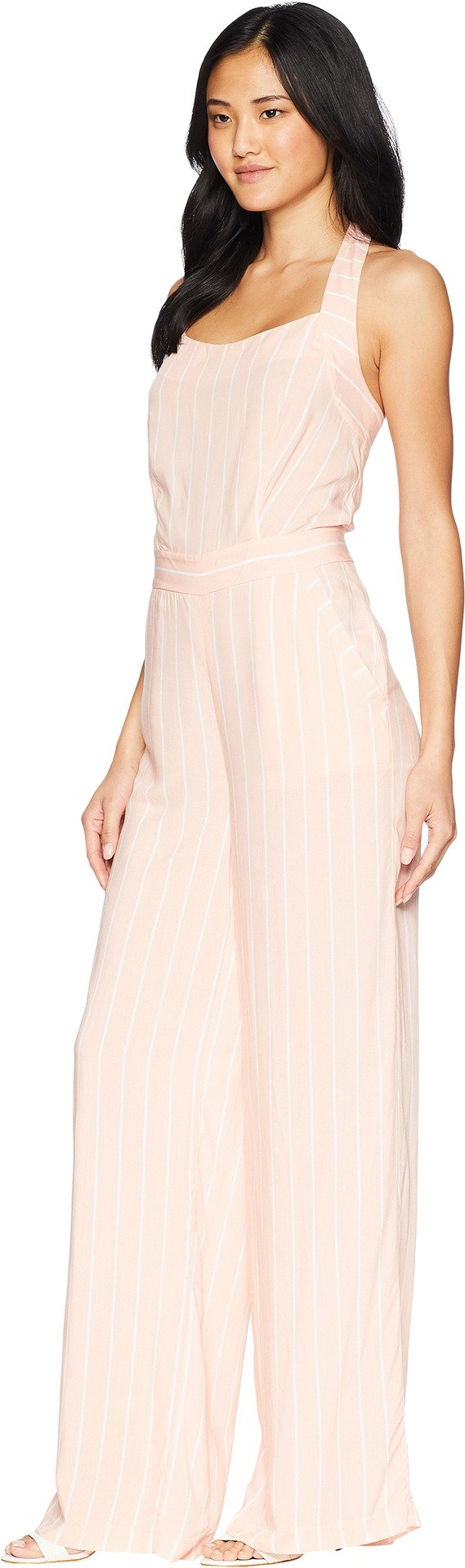 Juicy Couture Women's Cindy Stripe Jumpsuit Soft Pink Cindy Stripe 6 by Juicy Couture (Image #2)