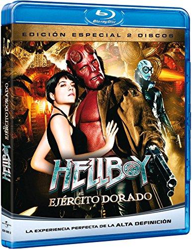 Hellboy 2: El ejército dorado (Blu-ray) [2008] (Import Movie) (European Format - Zone 2)