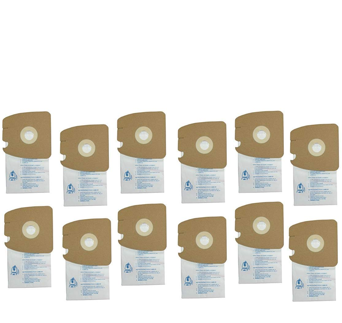 DVC Products Replacement for Eureka MM MicroLined Vacuum Cleaner Bags. Case of 100