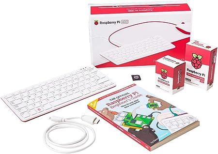 Raspberry Pi Kit de Puesta en Marcha Oficial de 400 4 GB ...