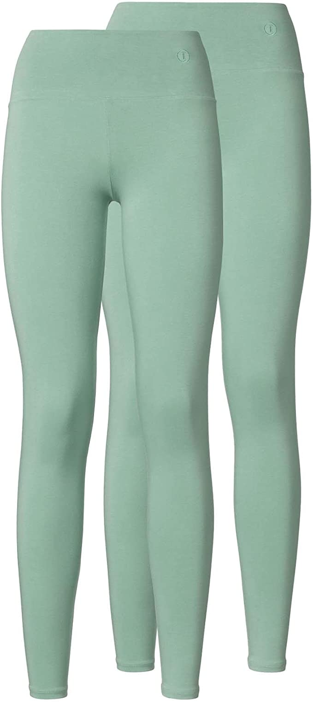 ThokkThokk - Leggings para Mujer (2 Unidades), Color Verde Verde ...