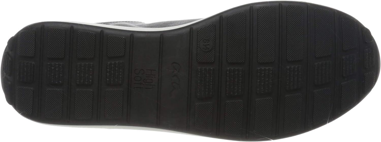 ARA Womens Low-Top Sneakers 4 UK Blue Blau 72