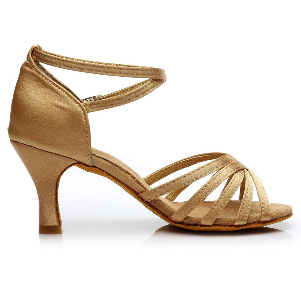 Sandals Women Fashion Dancing Rumba Waltz Prom Ballroom Latin Salsa Dance Sandals Shoes Pandaie Womens ..