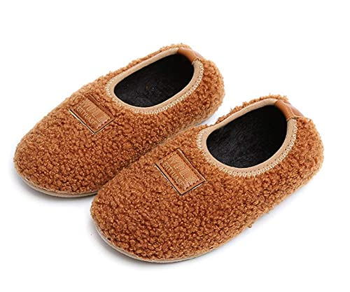 e513e70dfeb7a Elcssuy Kids House Slippers Household Soft Comfortable Anti-Slip Indoor  Outdoor Bedroom Slippers for Girls and Boys(Toddler/Little Kid)