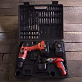 Stalwart Cordless Drill and Driver Combo, 74 Piece