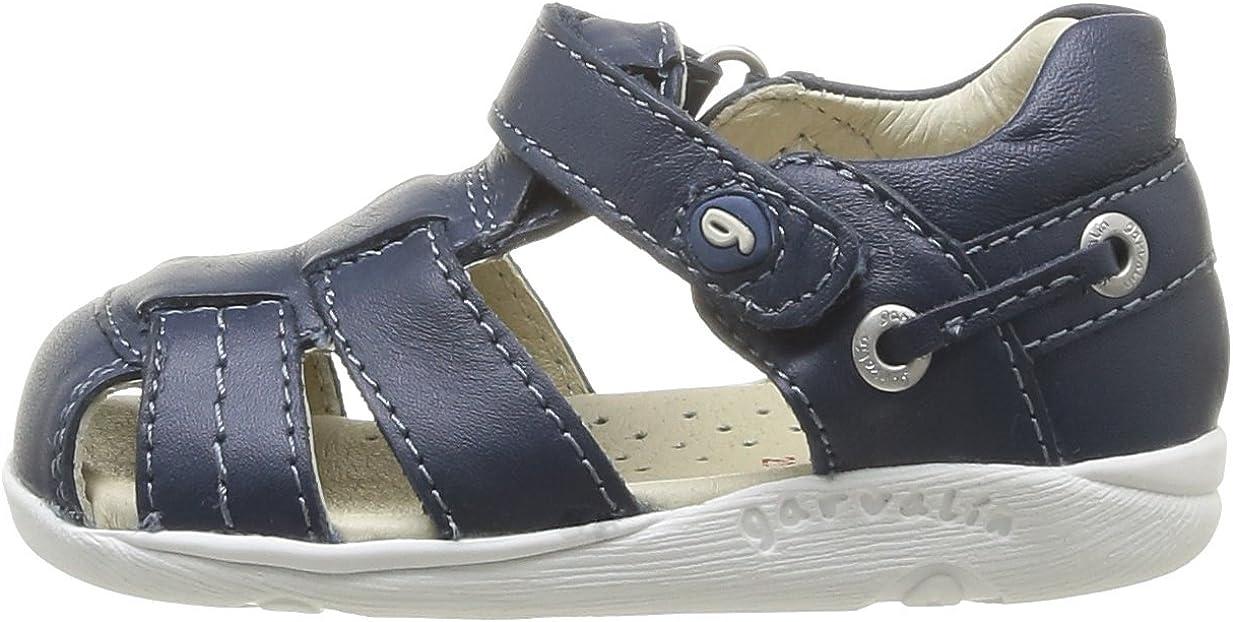 Garvalin 142332 Zapatos para beb/é de Cuero Talla 21 Color Azul
