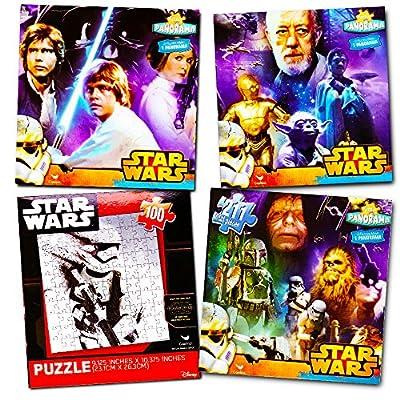 Disney Star Wars Classic Original 100 Piece Jigsaw Puzzles (Set of 4)