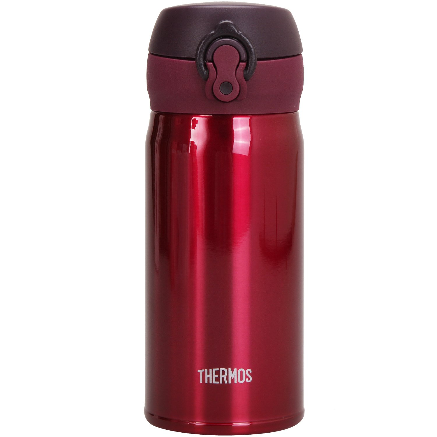 THERMOS vacuum insulation mobile mug [one-touch open type] 0.35L Burgundy JNL-350 BGD