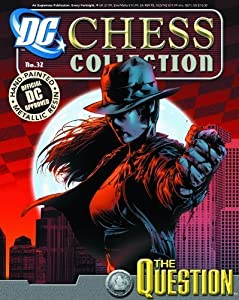 DC Chess Collector Figure #32 The Question White Pawn with Magazine