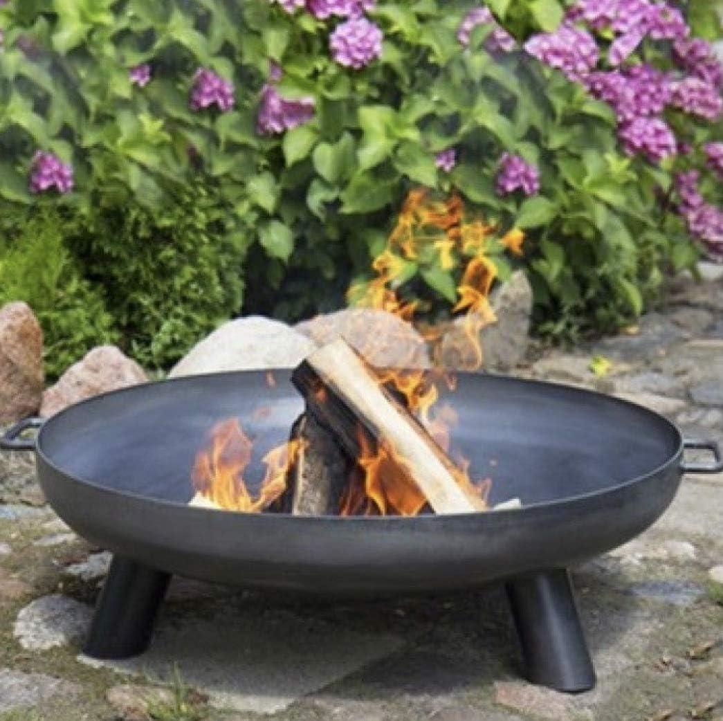 Feuerschale 100 cm Lagerfeuer Eisenschale gewölbte Scheibe 1000 mm SMD1000