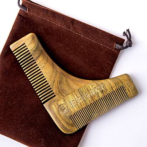 Wooden Beard Comb Shaping Tool -...